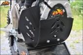 Sabot enduro AXP PHD noir Yamaha 450 WR-F 2016-2017 sabots axp