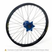 Roue arrière complète HAAN WHEELS 18X 2.15 jante noir/moyeu bleu Yamaha 250 YZ 1999-2017 roues completes