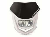 Plaque phare POLISPORT Halo LED noir/blanc plaques phare