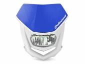Plaque phare POLISPORT Halo LED bleu/blanc plaques phare