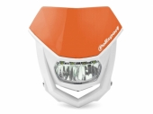 Plaque phare POLISPORT Halo LED orange/blanc plaques phare