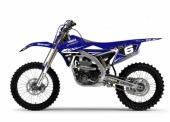 KIT DECO 2D RACING REPLICA DEPARROIS 2017 YAMAHA 250 YZ-F  1998-2018 kit deco