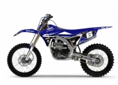 KIT DECO 2D RACING REPLICA DEPARROIS 2017 YAMAHA 450 WR-F 2003-2019 kit deco