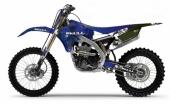 KIT DECO 2D RACING SKULL YAMAHA  450 YZ -F 2003-2018 kit deco