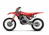 KIT DECO 2D RACING REPLICA VRT 3AS HONDA 450 CR-F 2002-2018 kit deco