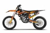 KIT DECO 2D REPICA ALIX KTM 125/250 SX 1998-2018 kit deco