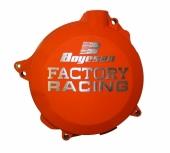 Couvercle de carter d'embrayage Boyesen orange HUSQVARNA 250 TC 2017-2018 couvercle d'embrayage boyesen