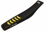 Housse de selle Blackbird Double Grip 3 noir/jaune Husqvarna 250 FC 2014-2017 housses de selle