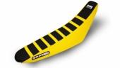 Housse de selle Zebra Blackbird noire/jaune Suzuki 250 RM-Z 2007-2009 housses de selle