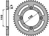 Couronne alu PBR 46 dents HUSQVARNA 85 TC 2014-2017 petites roues pignon couronne