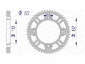 Couronne AFAM 46 dent  alu HUSQVARNA 85 TC 2014-2017 petites roues pignon couronne