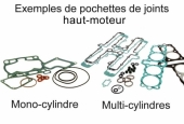 Kit joints haut-moteur Athena HUSQVARNA 250 FC 2014-2015 joints moteur