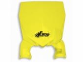 Plaque frontale UFO Stadium jaune Suzuki 250 RM-Z 2010-2017 plaque frontal ufo stadium