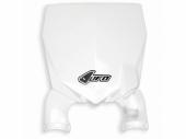 Plaque frontale UFO Stadium blanche Suzuki 250 RM-Z 2010-2017 plaque frontal ufo stadium
