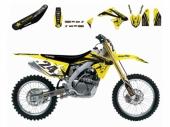 Kit deco BLACKBIRD Rockstar Energy Suzuki 250 RM-Z 2007-2009 kit deco