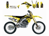 Kit deco BLACKBIRD Rockstar Energy Suzuki 450 RM-Z 2005-2007 kit deco