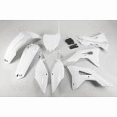 kit plastique ufo blanc HONDA 450 CR-F 2017 kit plastiques ufo