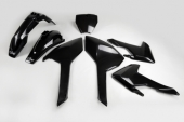 Kit plastiques UFO noir Husqvarna 350 FC 2016-2017 kit plastiques ufo