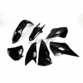 Kit plastiques UFO noir Husqvarna 350 FC 2014-2015 kit plastiques ufo