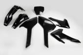 Kit plastiques UFO noir Husqvarna 450 FC 2016-2017 kit plastiques ufo