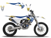 Kit déco Blackbird Dream Graphic III Husqvarna  125TC 2014-2017 kit deco