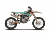 Kit Déco Blackbird Replica Marchetti Racing KTM EXC/EXC-F 125 et + 2017 kit deco
