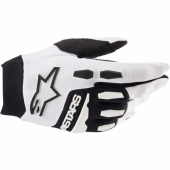 Gants Cross ALPINESTARS RACEFEND NOIR/ ORANGE FLUO 2019 gants