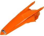garde boue arriere ORANGE FLUO UFO KTM 350 SX-F 2016-2018 plastiques ufo