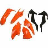 Kit plastiques UFO couleur origine orange KTM 300 EX-C 2017 kit plastiques ufo