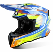 CASQUE AIROH TWIST MIX GLOSS BLEU casques