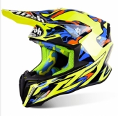 CASQUE AIROH TWIST TC16  JAUNE casques