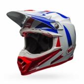 Casque BELL Moto-9 Flex Vice bleu/rouge casques
