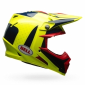 Casque BELL Moto-9 Flex Vice bleu/jaune  casques