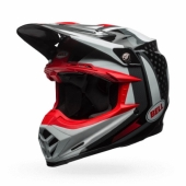 Casque BELL Moto-9 Flex Vice noir/blanc casques