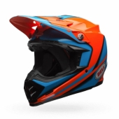 Casque BELL Moto 9 Spark orange casques