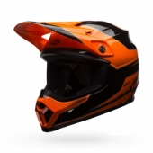 Casque BELL MX-9 Mips Stryker Mips Flo orange  casques