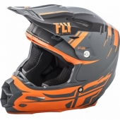 CASQUE CROSS FLY RACING F2 CARBON FORGE ORANGE/NOIR 2018 casques