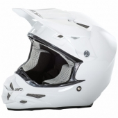 CASQUE CROSS FLY RACING F2 CARBON BLANC casques