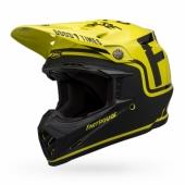 Casque BELL Moto-9 Flex Fasthouse noir/jaune fluo casques