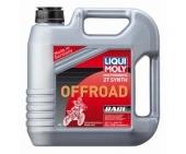 huile melange cross liqui moly 100% synthese 4 L huile moteur  2 T