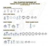 KITS VISSERIE PLASTIQUE BOLT YAMAHA 450 WR-F 2003-2006 kits visserie plastique