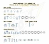 KITS VISSERIE PLASTIQUE BOLT YAMAHA 450 WR-F 2007-2011 kits visserie plastique