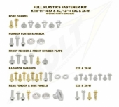 KITS VISSERIE PLASTIQUE BOLT HUSQVARNA 125 TE 2014-2016 kits visserie plastique
