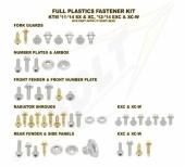 KITS VISSERIE PLASTIQUE BOLT HUSQVARNA  250/350/450 FC 2014-2015 kits visserie plastique