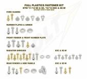 KITS VISSERIE PLASTIQUE BOLT HUSQVARNA 250/350/450/501 FE 2014-2016 kits visserie plastique