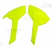 plaques numero laterales UFO HUSQVARNA 250 FE 2017-2018 plastiques ufo