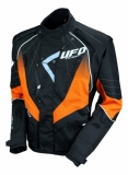 Veste UFO enduro ORANGE/NOIR 2019 vestes