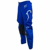 MAILLOT CROSS FIRTS RACING SCAN  BLEU CHINE/BLANC 2018 maillots pantalons
