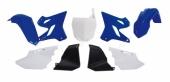 Kit Plastiques RACETECH Replica 15-16 bleu/blanc Yamaha 125 YZ 2002-2004 kit plastiques racetech