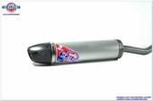 silencieux CROSS SCALVINI ALUMINIUM embout carbone KTM 50 SX 2016-2018 echappements